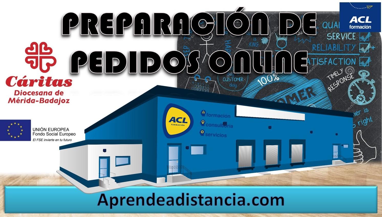 (BADAJOZ CÁRITAS) PREPARACIÓN DE PEDIDOS ONLINE