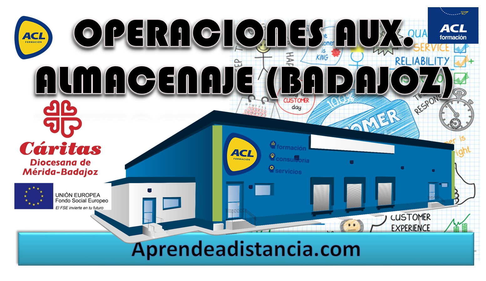(BADAJOZ CÁRITAS) OPERACIONES AUXILIARES DE ALMACENAJE
