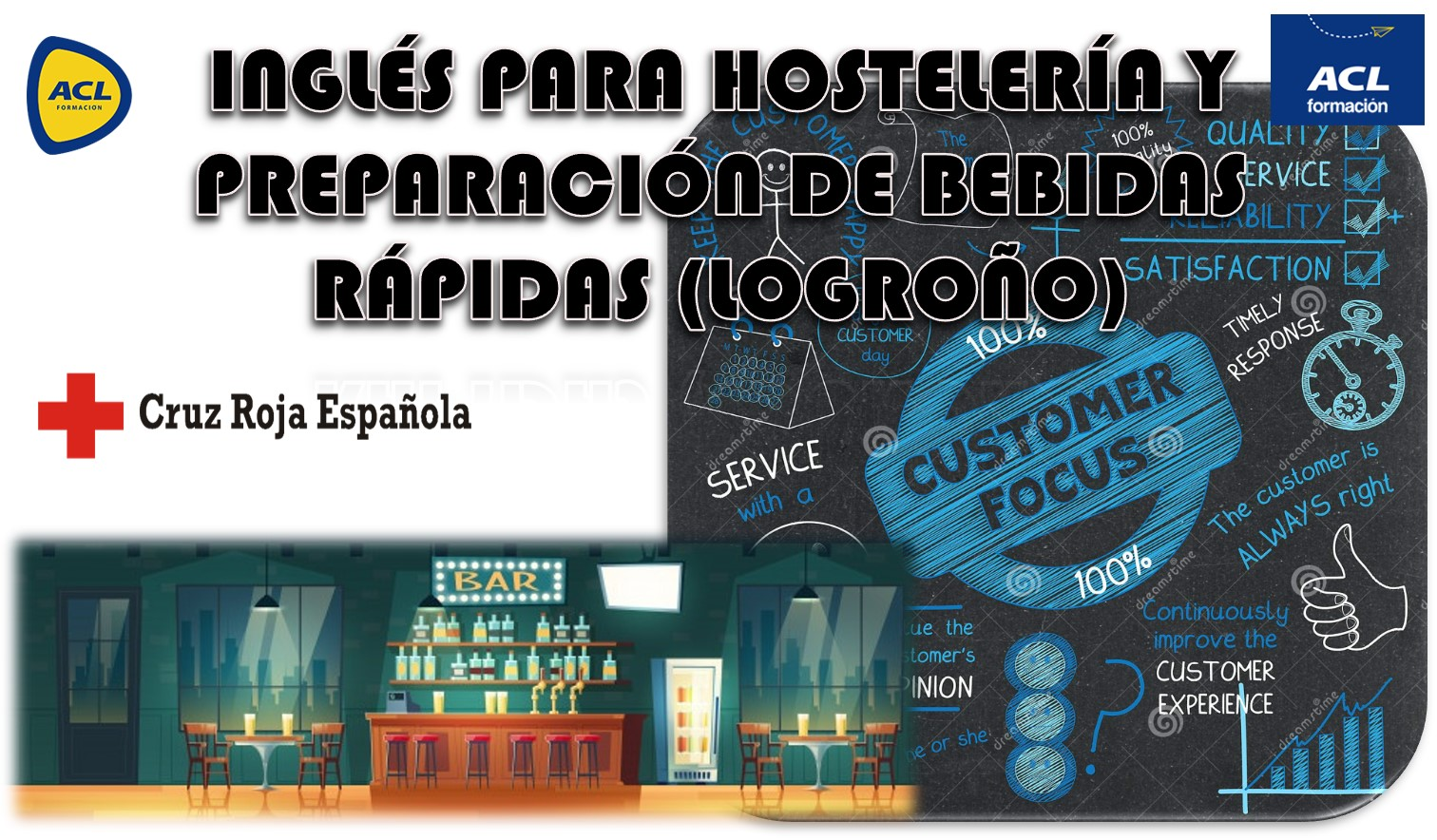 INGLÉS PARA HOSTELERÍA Y  PREPARACIÓN DE BEBIDAS RÁPIDAS