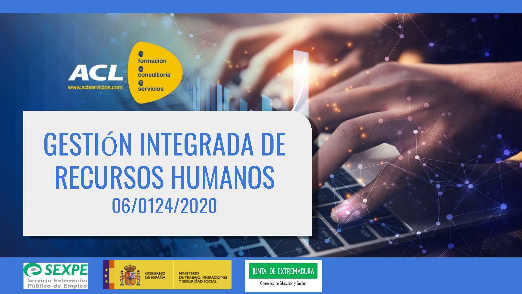 06/0124/2020 Gestión integrada de Recursos Humanos