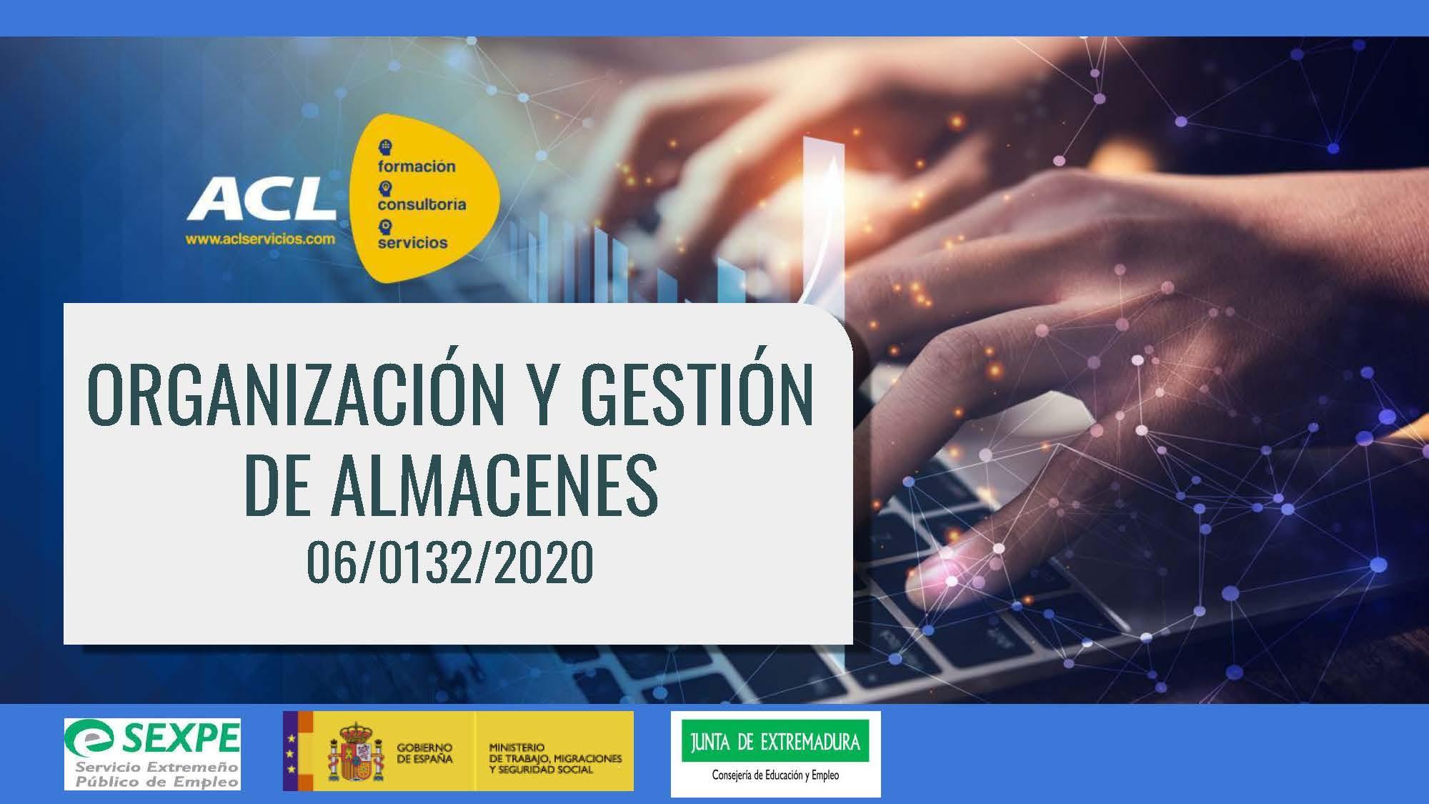 ORGANIZACIÓN Y GESTIÓN DE ALMACENES 06/0132/2020