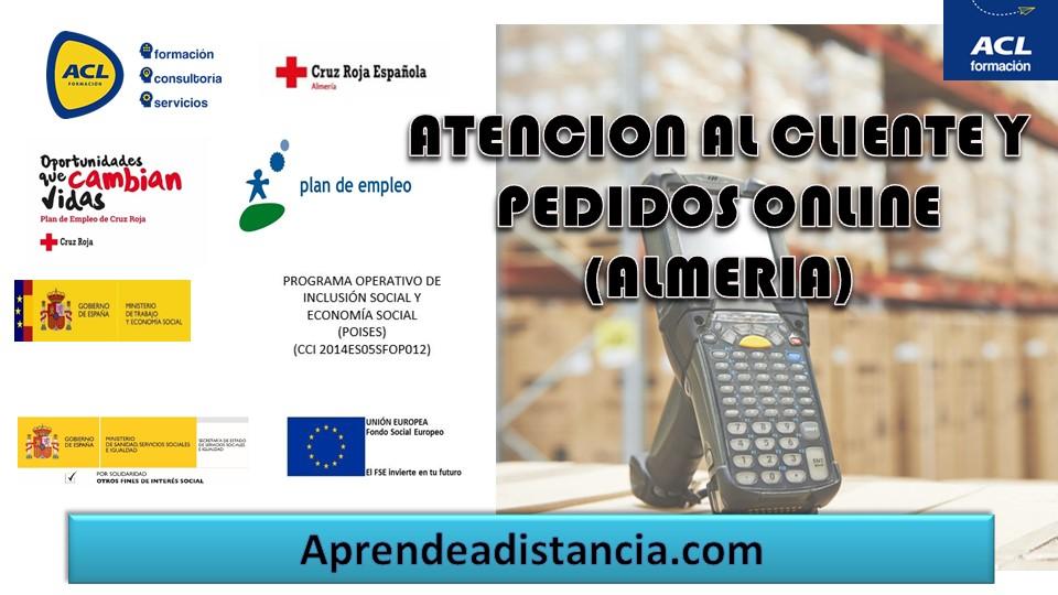 ATENCIÓN AL CLIENTE Y PEDIDOS ONLINE (ALMERÍA)