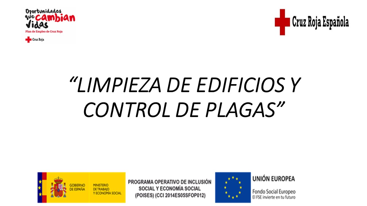 LIMPIEZA DE EDIFICIOS Y CONTROL DE PLAGAS