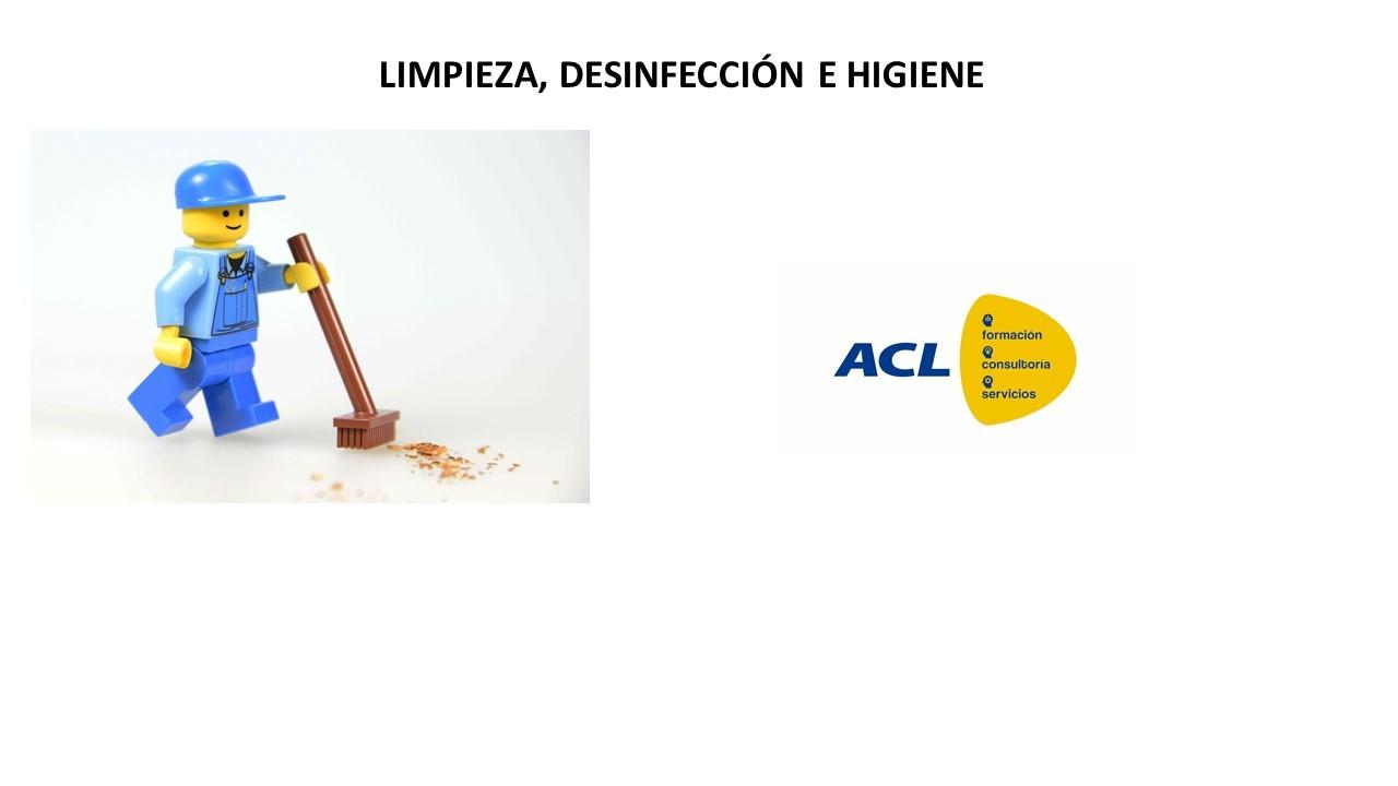 LIMPIEZA, DESINFECCIÓN E HIGIENE. C.R. DON BENITO